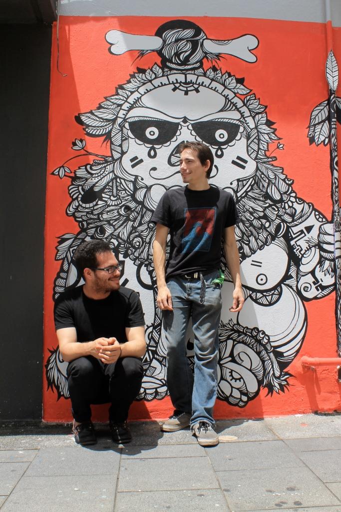 Anteriormente, formaron parte de una banda llamada Los Circuitos Bananoides. / Foto por: Johnari García