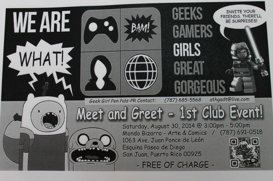 1st Meeting flyer