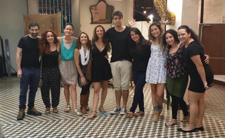 Estudiantes del curso Cuerpo y ciudad. / Foto: Yari Cotto