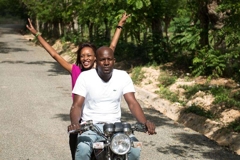 Deisy Toussaint en Villa Mella. Foto Luz Sosa-4